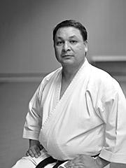 Professeur de karaté au SKA